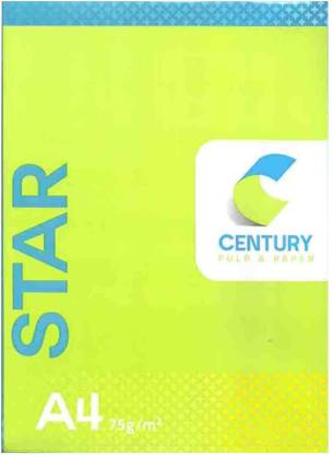Century X Series Unruled A4 Printer Paper