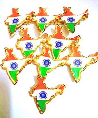 Indian National Flag Broach.