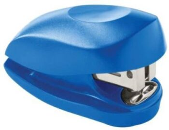 Souland Manual 23 6 H Round Edged Staplers Set of 1 Blue