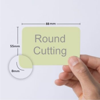 rounded cutting